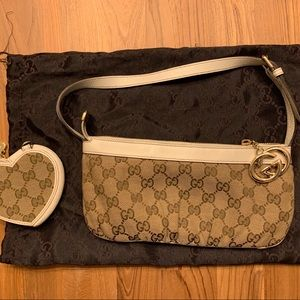 Gucci purse and matching wallet